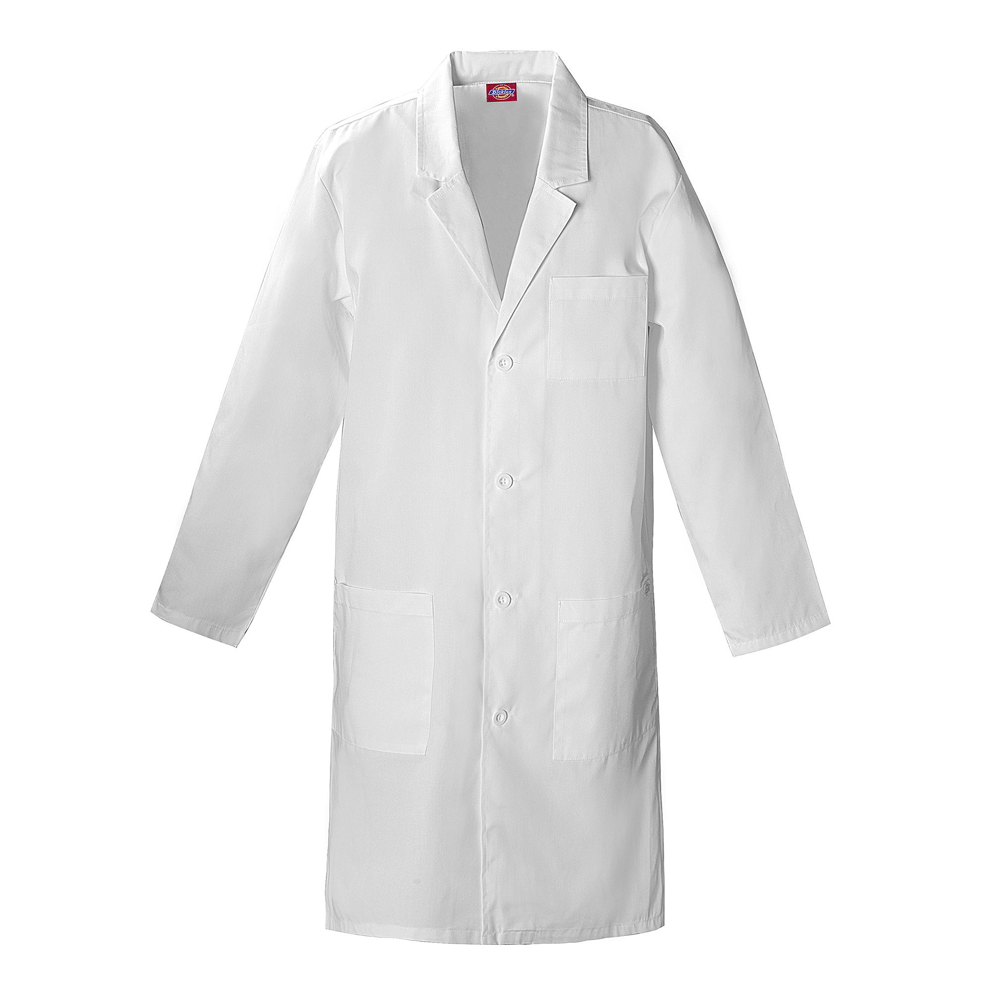 """Dickies 40"""" Unisex Lab Coat-Plus plus size,  plus size fashion plus size appare"""