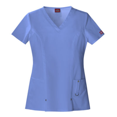 Dickies® 82851 Womens V-Neck Scrub Top