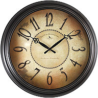 wall clocks under $50