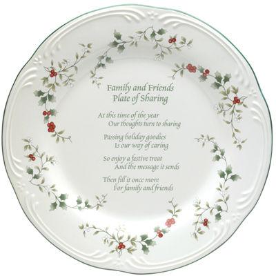 Pfaltzgraff® Winterberry Friends & Family Round Serving Platter