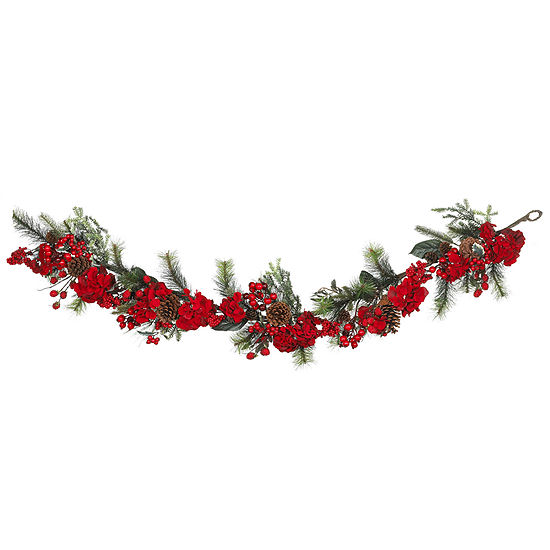 Nearly Natural 60in Cedar Indoor Christmas Garland