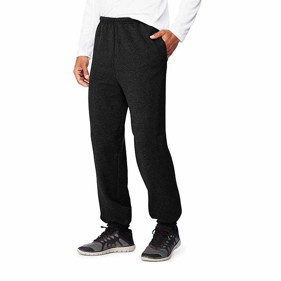 Hanes Sports Ultimate Cotton Mens Fleece Sweatpants With Pockets