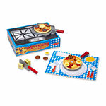 Melissa & Doug® Wooden Flip & Serve Pancake Set