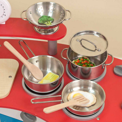 Melissa & Doug® Let's Play House! Pots & Pans Set