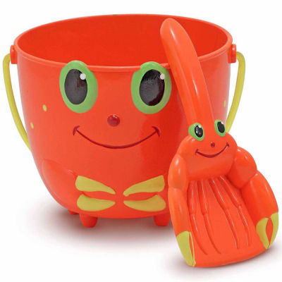 Melissa & Doug® Clicker Crab Pail and Scoop