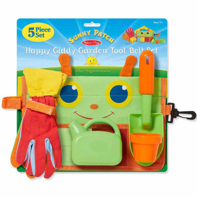 Melissa & Doug® Blossom Bright Garden Tool Belt Set