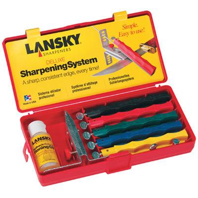 Lansky Deluxe Sharpening Sys  LKCLX