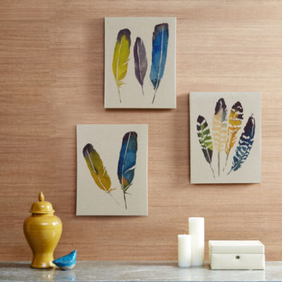Madison Park In The Wind 3-pc. Canvas Art