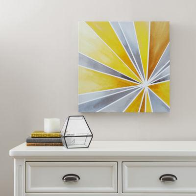 Intelligent Design Ray Of Sunshine Gel Coat Canvas Art
