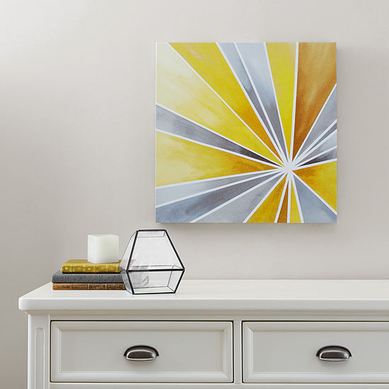 Intelligent Design Ray Of Sunshine Gel Coat Canvas Art