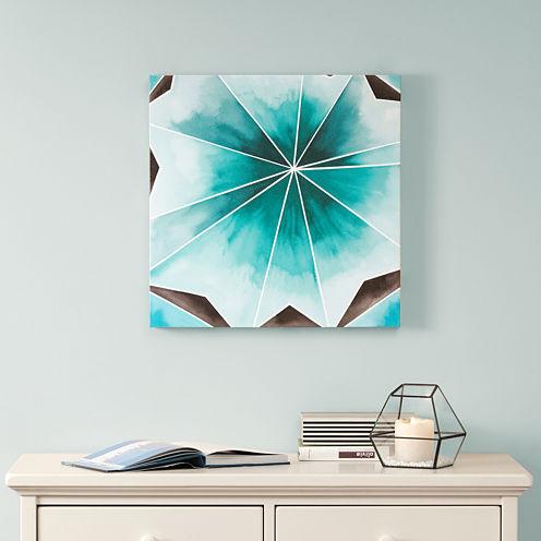 Intelligent Design Cool Gem Gel Coat Canvas Art