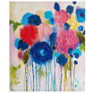 Intelligent Design Hearts And Flowers Canvas Art