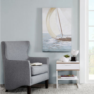 Madison Park Sail Away Knife Palette Paint Canvas Art