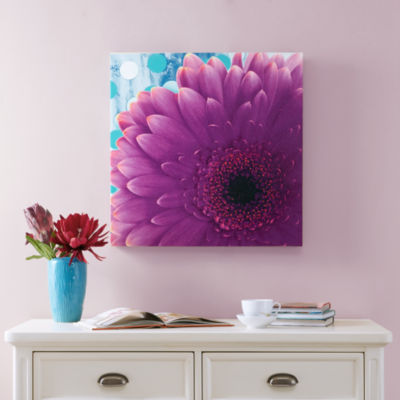 Mi Zone Vibrant Violet Gel Coat Canvas Art