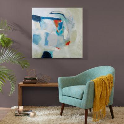 INK+IVY Looking Glass Gel Embellished Canvas Art