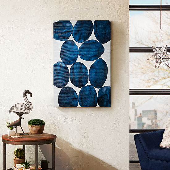 INK + IVY Painted Puzzle Canvas Art