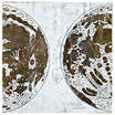 INK+IVY Map The Moon Printed Canvas Art