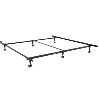 Adjustable Queen To King Metal Bed Frame   JCPenney
