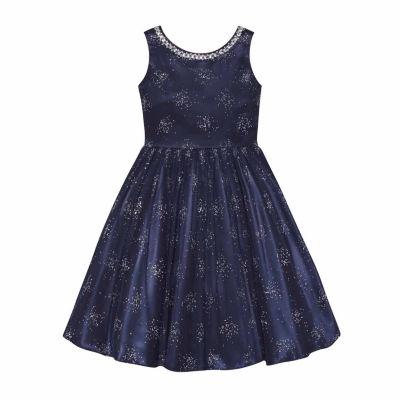 American Princess Sleeveless A-Line Dress - Big Kid Girls