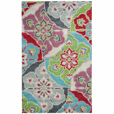 Rizzy Home Pandora Collection Aniyah Medallion Rugs