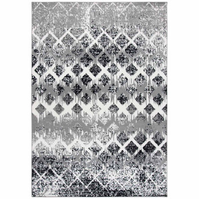 Rizzy Home Xcite Collection Daphne Diamond Rectangular Rugs