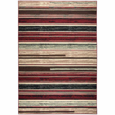 Rizzy Home Xcite Collection Esmeralda Stripe Rectangular Rugs