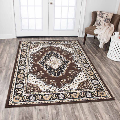 Rizzy Home Xcite Collection Gia Medallion Rectangular Rugs