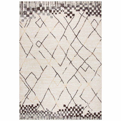 Rizzy Home Xcite Collection Gianna Abstract Rectangular Rugs