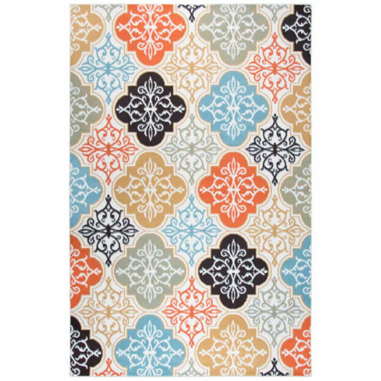 Rizzy Home Xpression Collection Elsie Medallion Rectangular Rugs