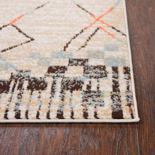 Rizzy Home Xpression Collection Kyleigh Stripe Rectangular Rugs