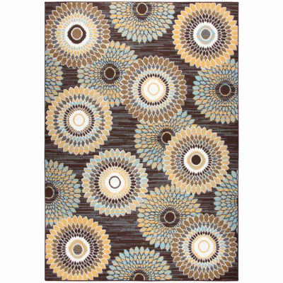 Rizzy Home Xpression Collection Megan Medallion Rectangular Rugs
