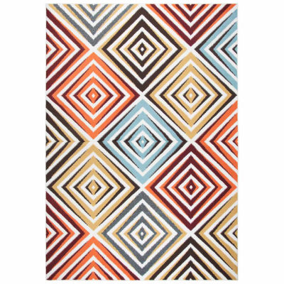 Rizzy Home Xpression Collection Skye Diamond Rectangular Rugs