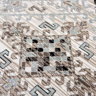 Rizzy Home Zenith Collection Averie Diamond Rectangular Rugs