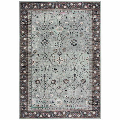 Rizzy Home Zenith Collection Carly Oriental Rectangular Rugs