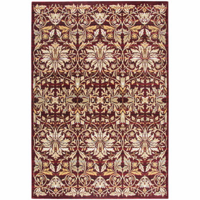 Rizzy Home Zenith Collection Clara Damask Rectangular Rugs