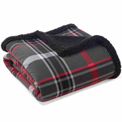 """Eddie Bauer Winslow Gray 50X60 Throw"