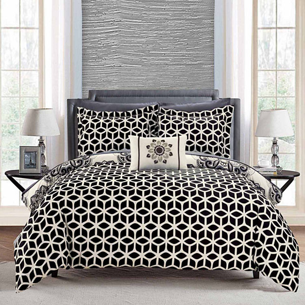 Chic Home Barcelona Midweight Reversible Comforter Set