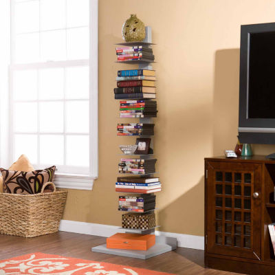 """""""Home Decor Collections Spine Book Tower"""