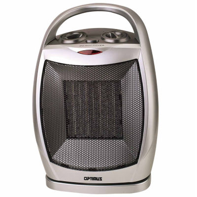 Portable Oscillating Ceramic Heater with Thermostat