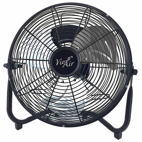 "Vie Air 20"" Industrial Tilting High Velocity 3 Speed Metal Floor Fan"