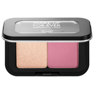 MAKE UP FOR EVER Artist Face Color Mini Highlighter & Blush Duo