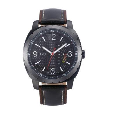 Esq Mens Black Strap Watch-37esq011301a