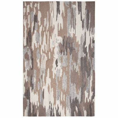 Rizzy Home Suffolk Collection Adrianna Abstract Rectangular Rugs