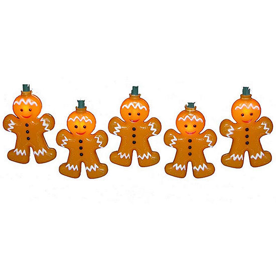 Kurt Adler Gingerbread Man Light Set