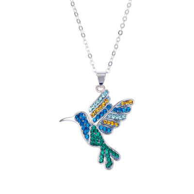 Sparkle Allure Crystal Kingdom Womens Multi Color Pendant Necklace