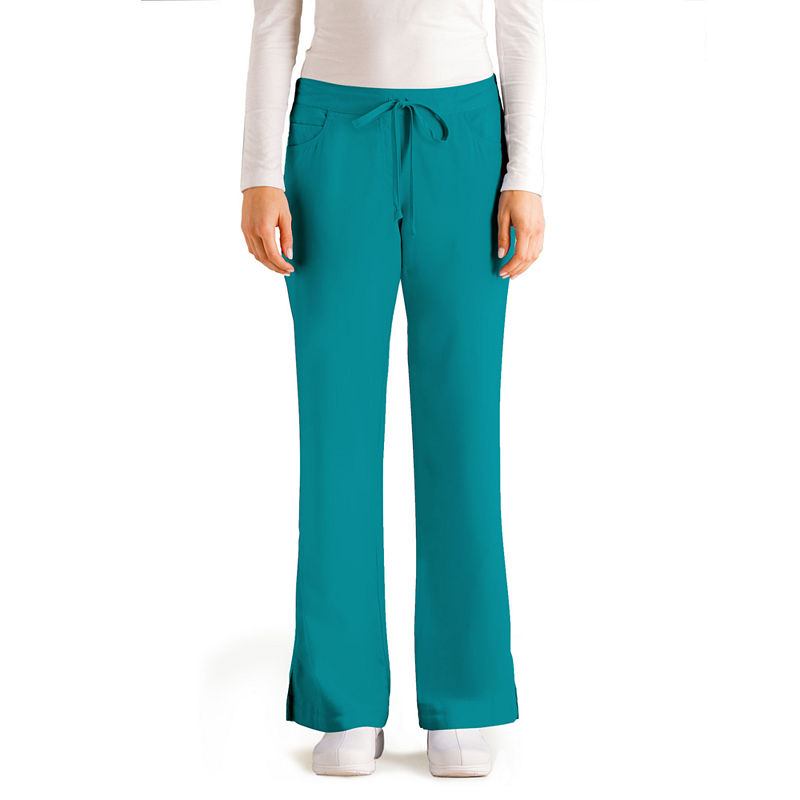 Grey's Anatomy™ 5-Pocket Junior Fit Scrub Pants plus size,  plus size fashion plus size appare