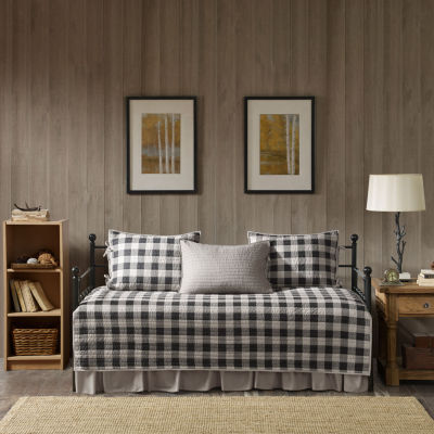 Woolrich Buffalo Check Cotton 5-pc. Daybed Cover Set