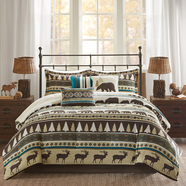 Madison Park Butte Herringbone 7 Pc. Comforter Set Amazing Ideas