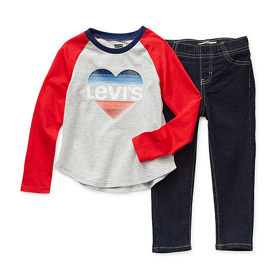 Levi's Toddler Girls 2-pc. Legging Set