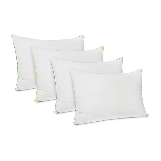 SensorPEDIC Wellness Collection Fiber Fill Pillow with Vitamin E Infused Cover